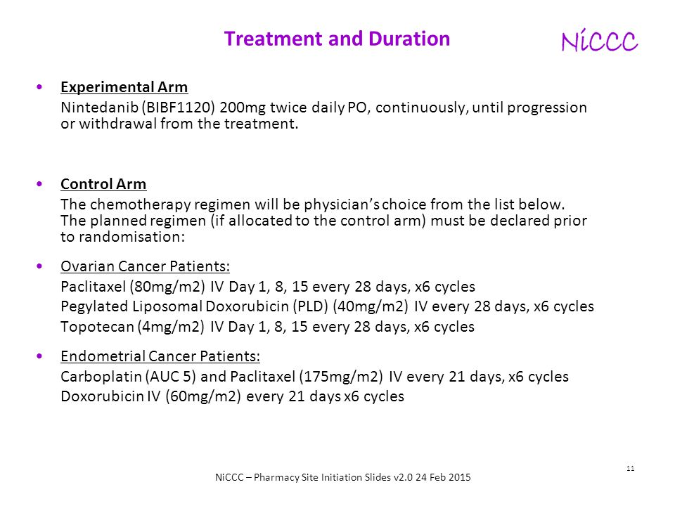 Treatment and Duration