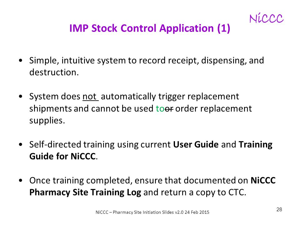 IMP Stock Control Application (1)