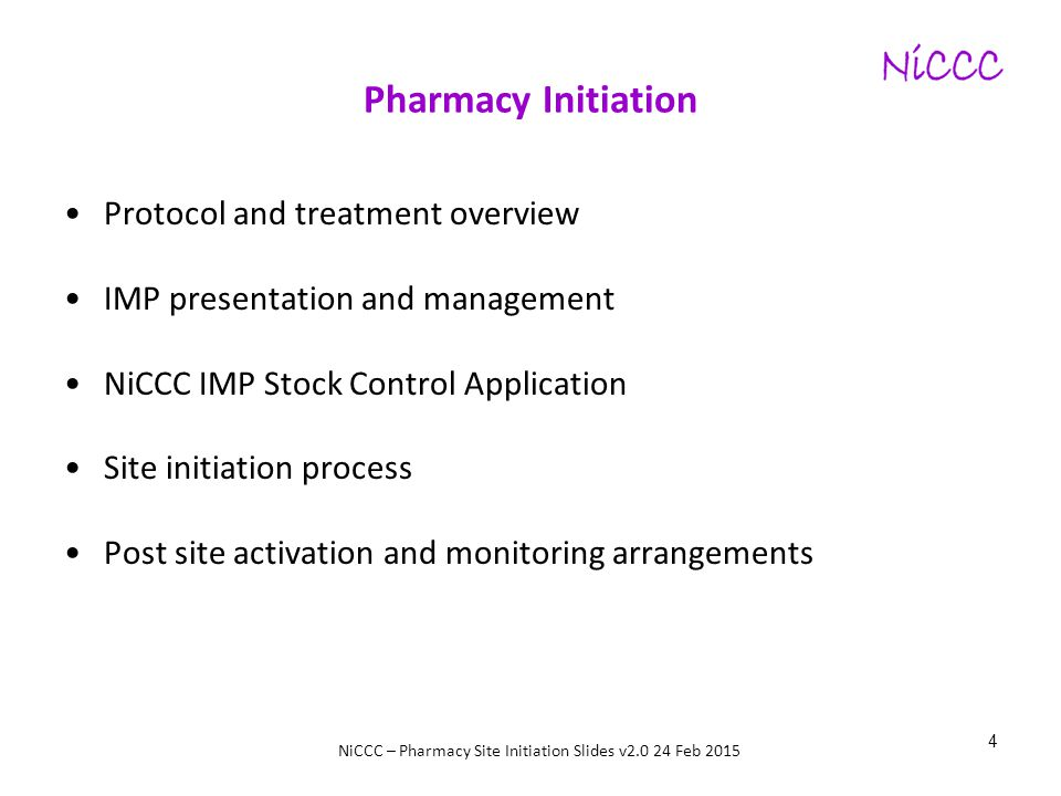 Pharmacy Initiation Protocol and treatment overview