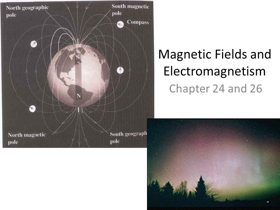 Magnetic Fields and Electromagnetism