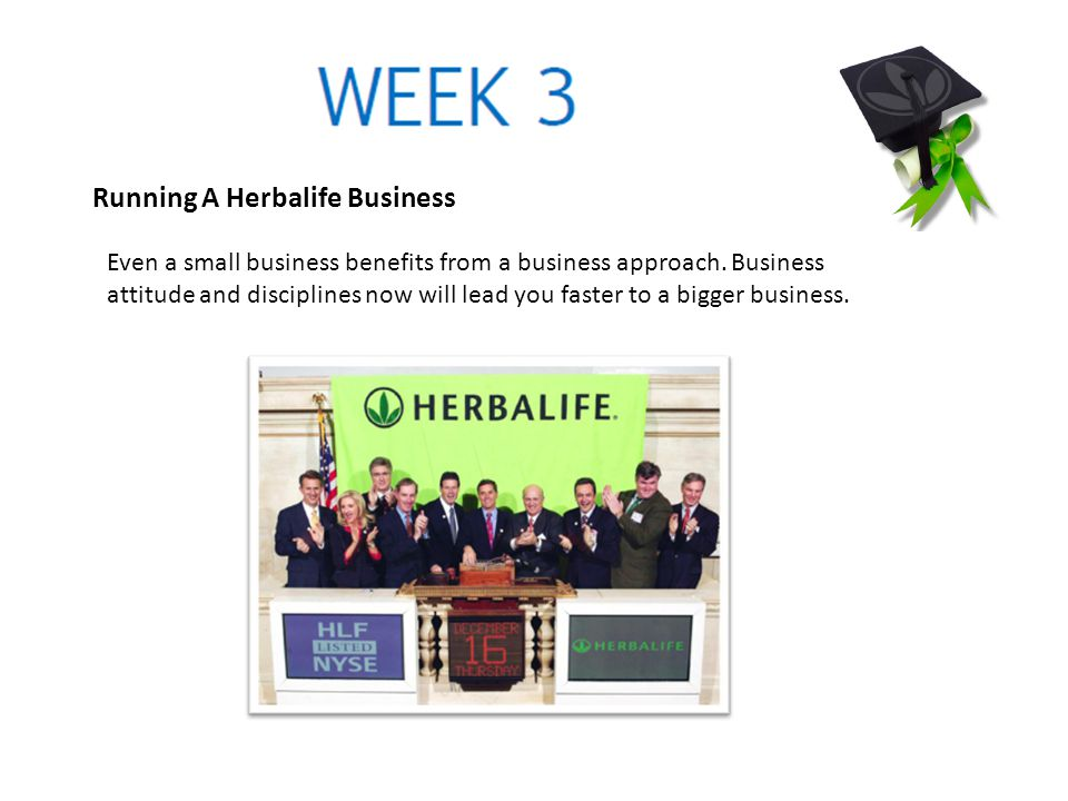 Running A Herbalife Business