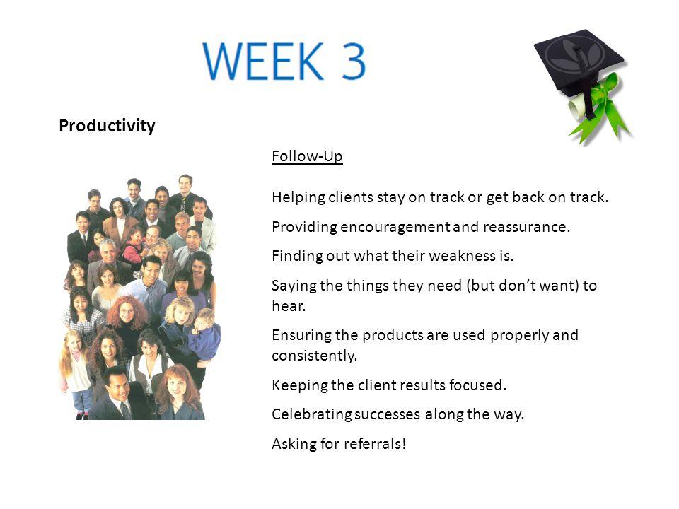 Productivity Follow-Up