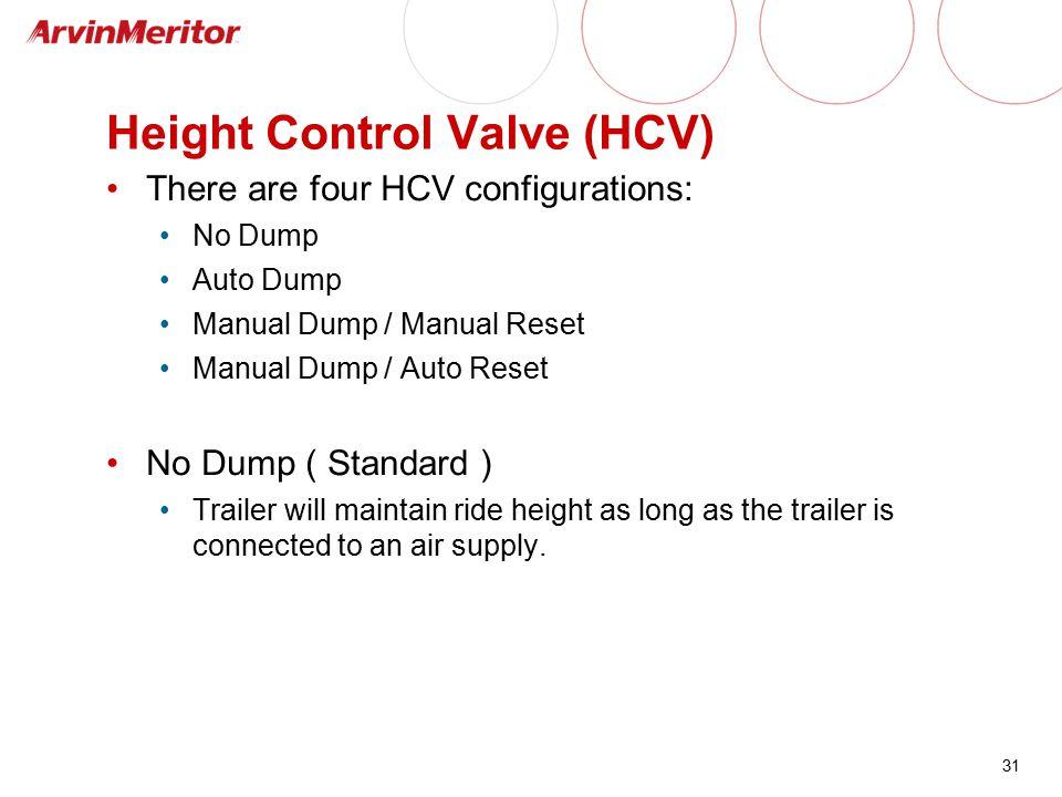 Height Control Valve (HCV)