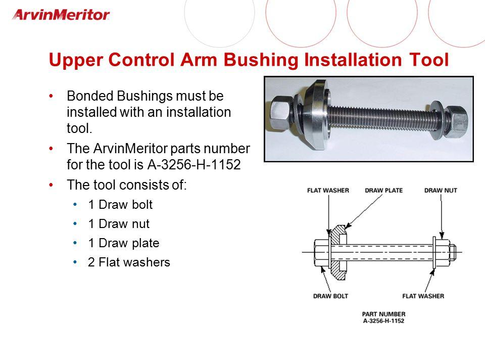 Upper Control Arm Bushing Installation Tool