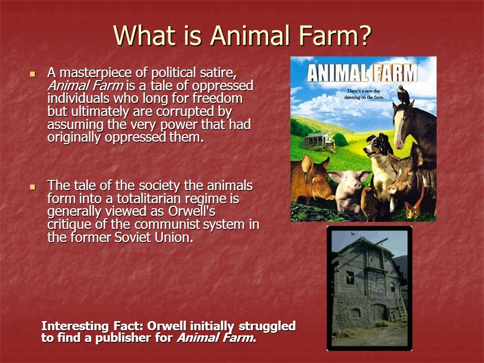 What is Animal Farm