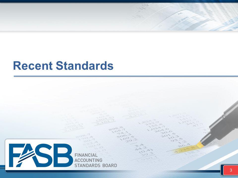 Recent Standards