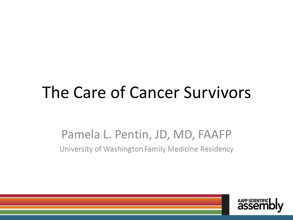The Care of Cancer Survivors