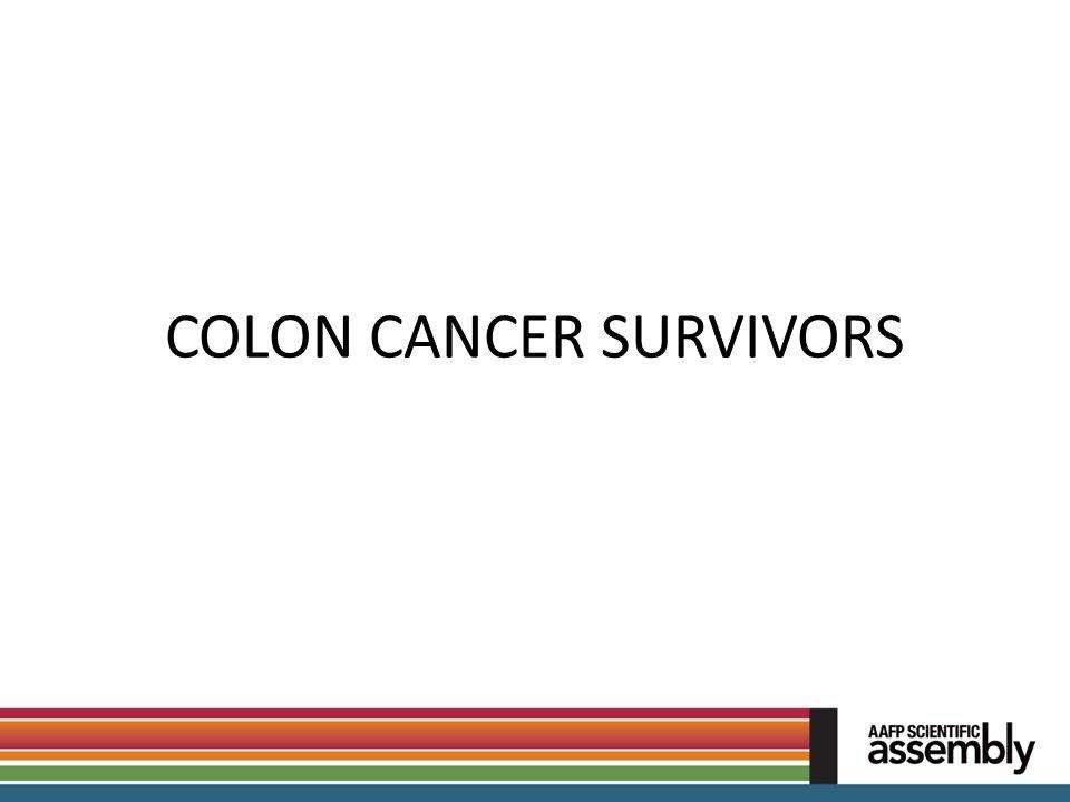 COLON CANCER SURVIVORS