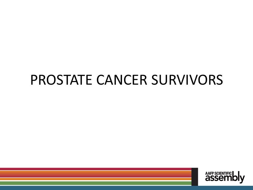 PROSTATE CANCER SURVIVORS