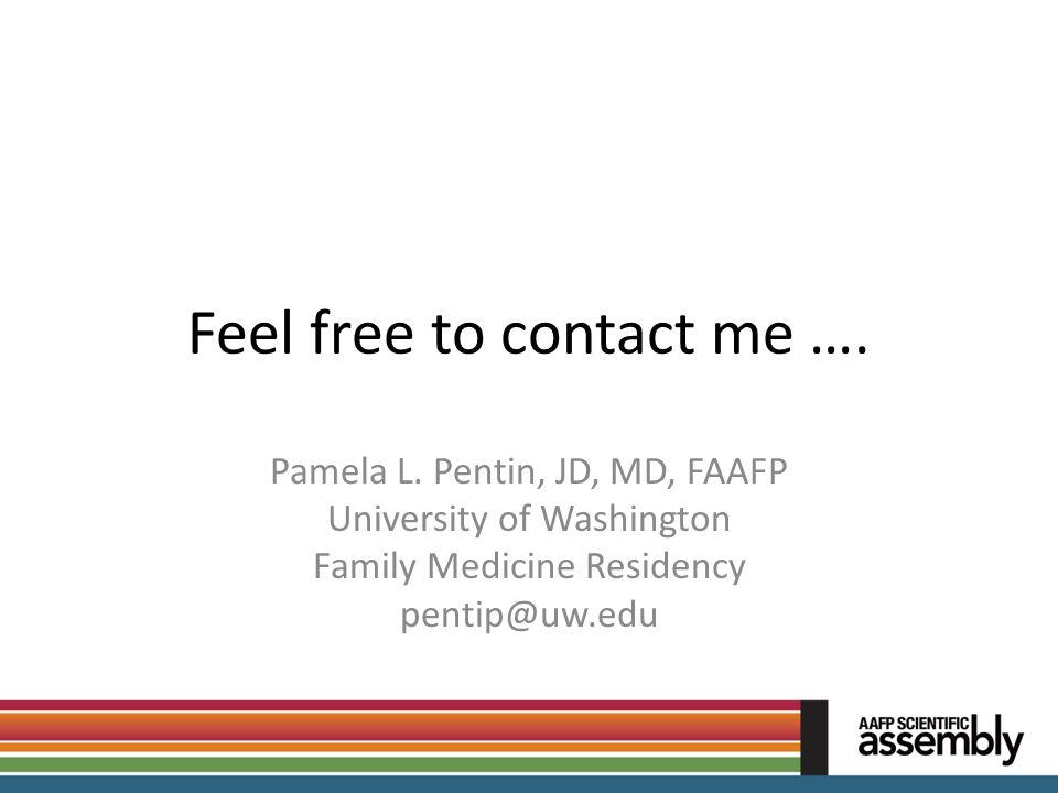 Feel free to contact me ….