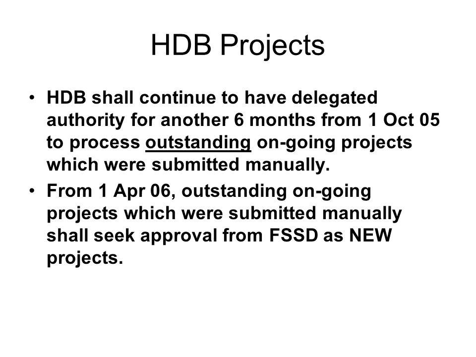 HDB Projects