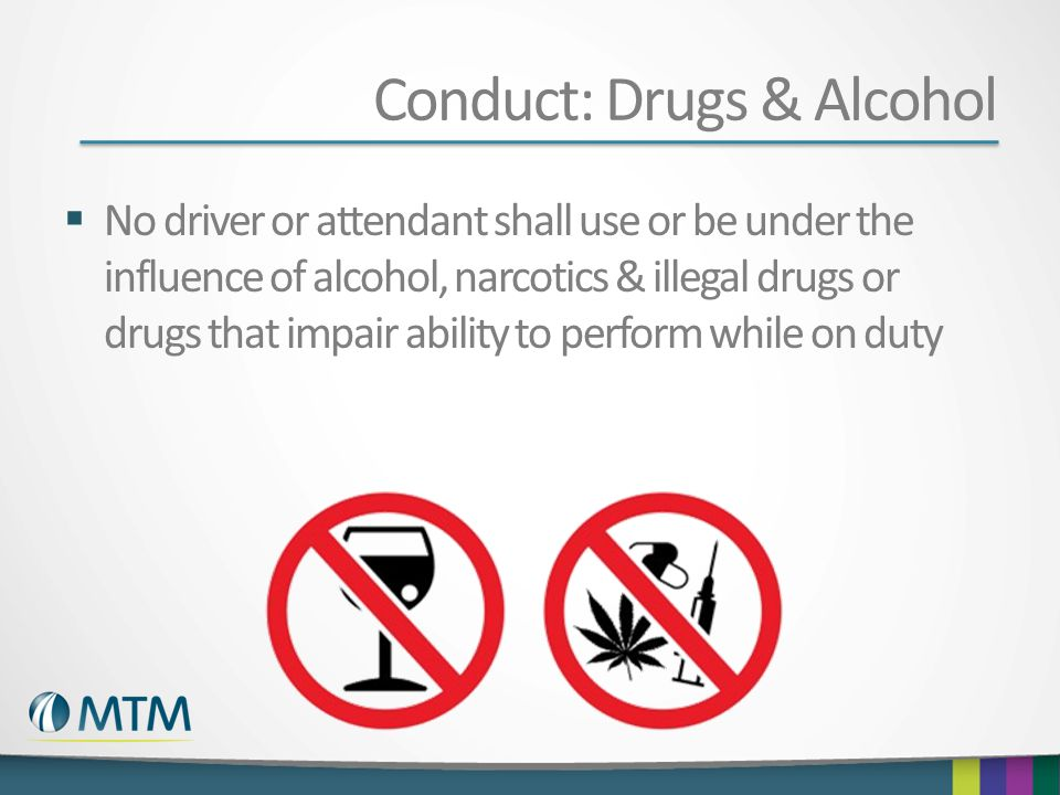 Conduct: Drugs & Alcohol