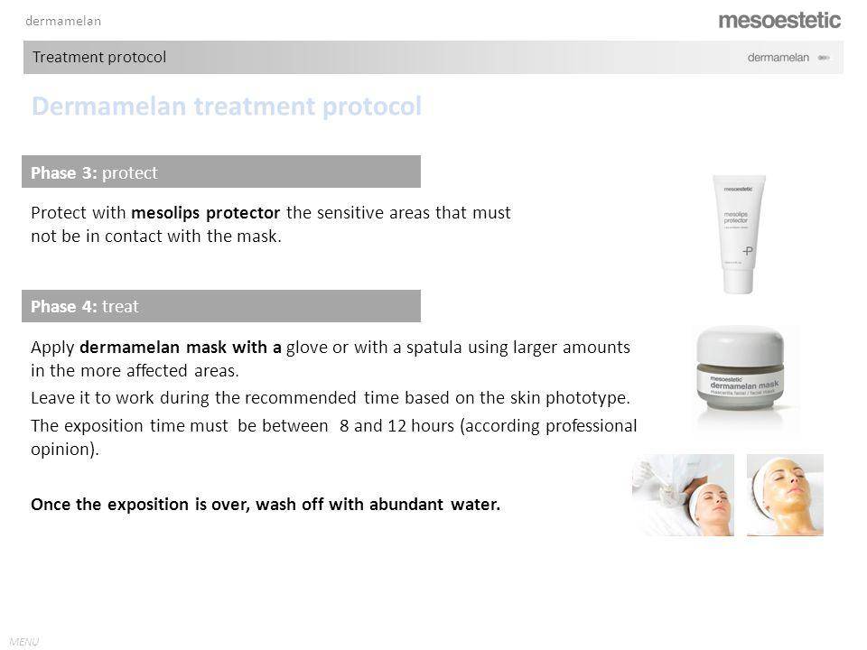 Dermamelan treatment protocol