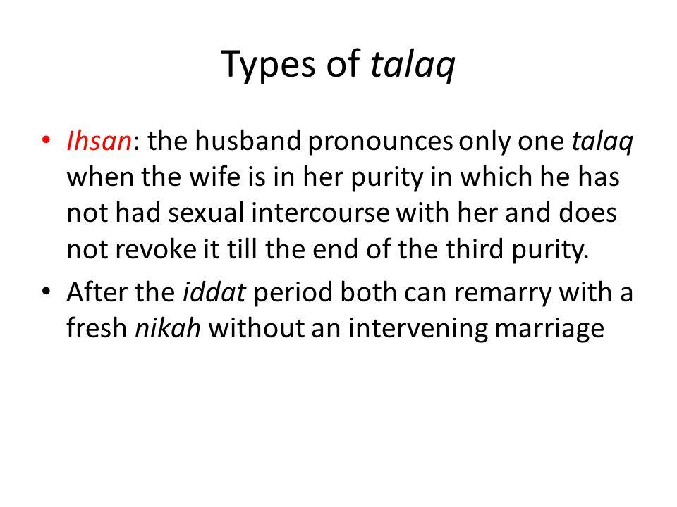 Types of talaq