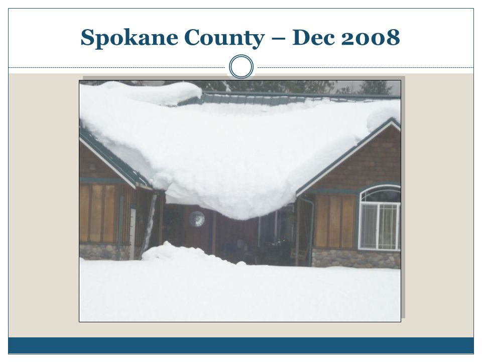 Spokane County – Dec 2008