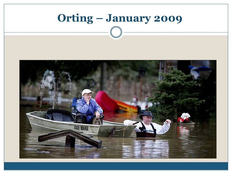 Orting – January 2009