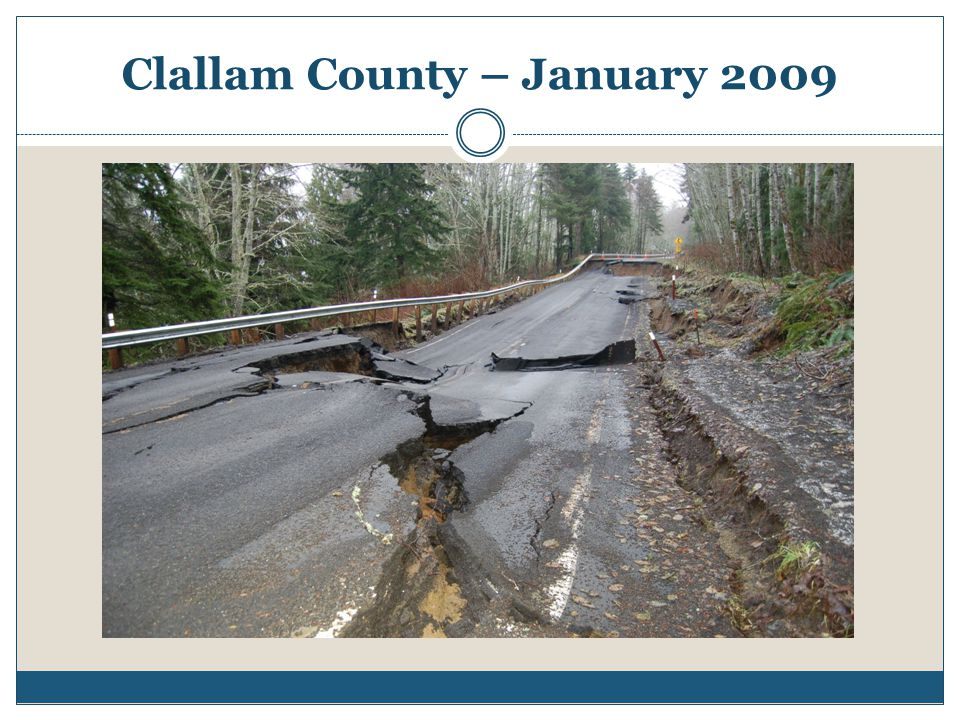Clallam County – January 2009