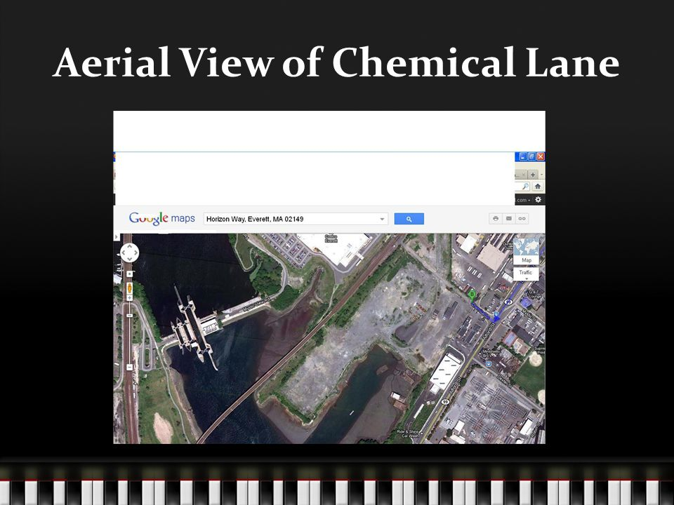 Aerial View of Chemical Lane