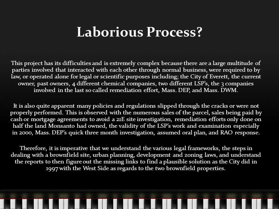 Laborious Process