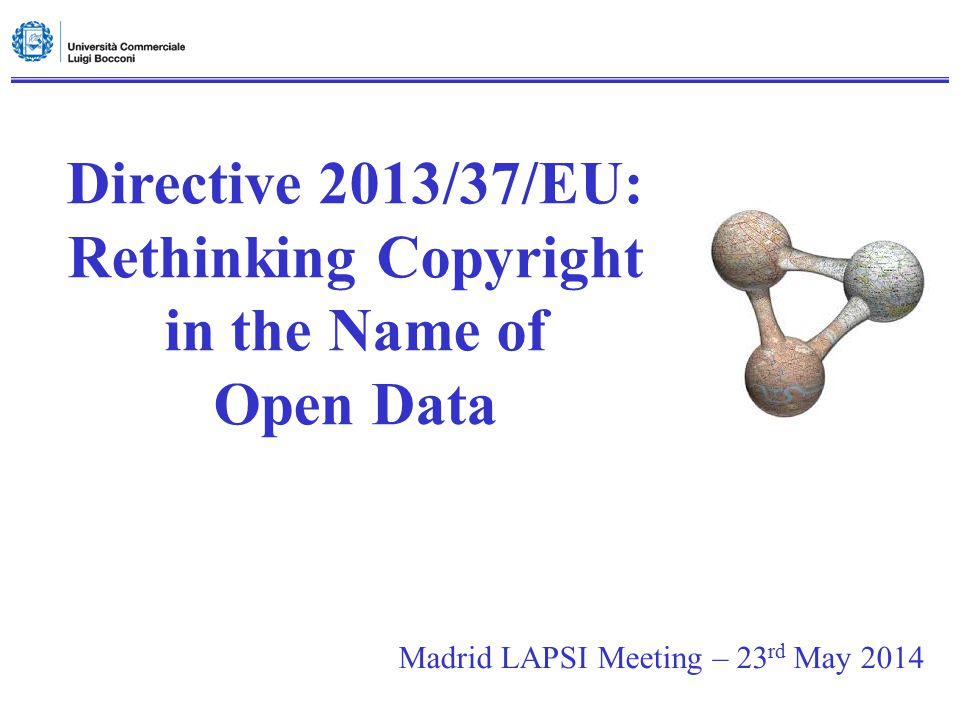 Rethinking Copyright in the Name of