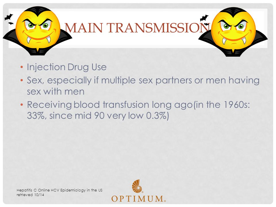 MAIN Transmission Injection Drug Use