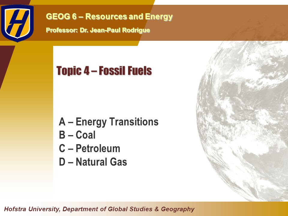 A – Energy Transitions B – Coal C – Petroleum D – Natural Gas