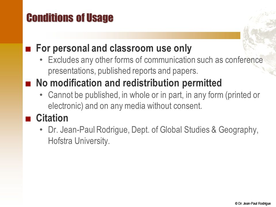 For personal and classroom use only