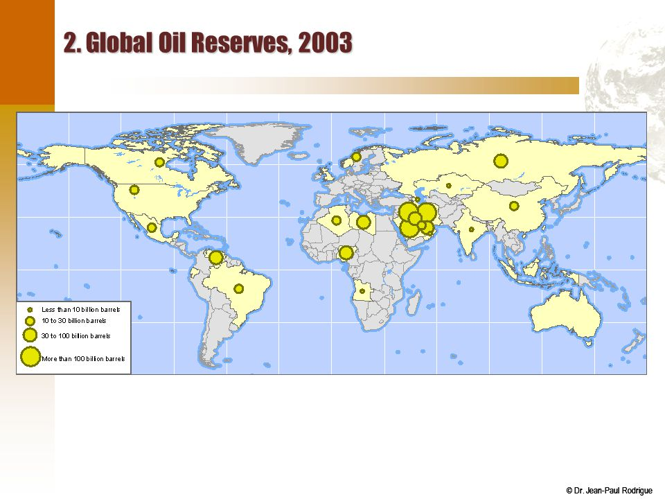 2. Global Oil Reserves, 2003