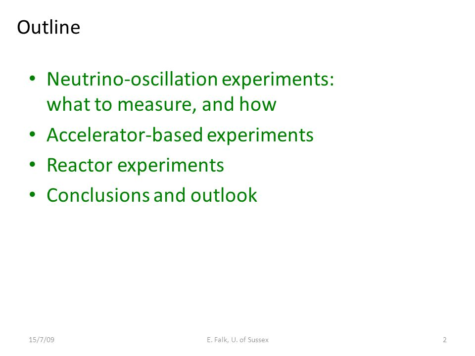 Neutrino-oscillation experiments: what to measure, and how