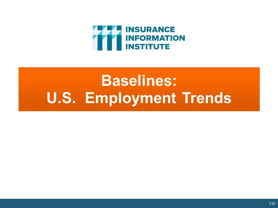 Baselines: U.S. Employment Trends