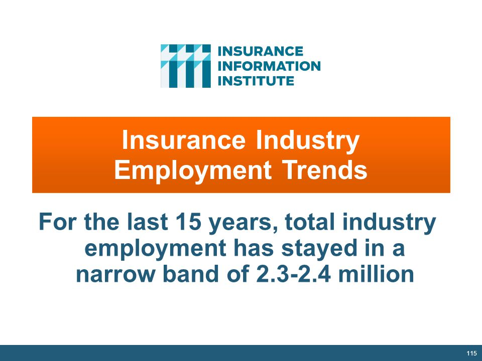 Insurance Industry Employment Trends