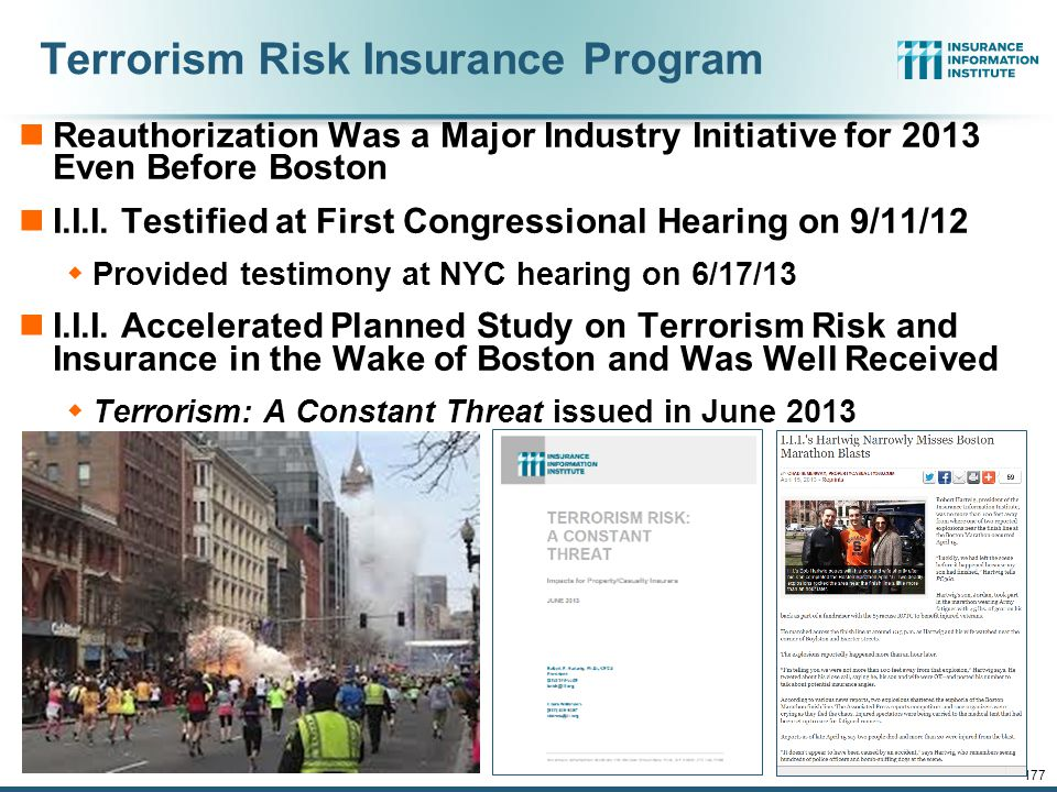 Terrorism Risk Insurance Program