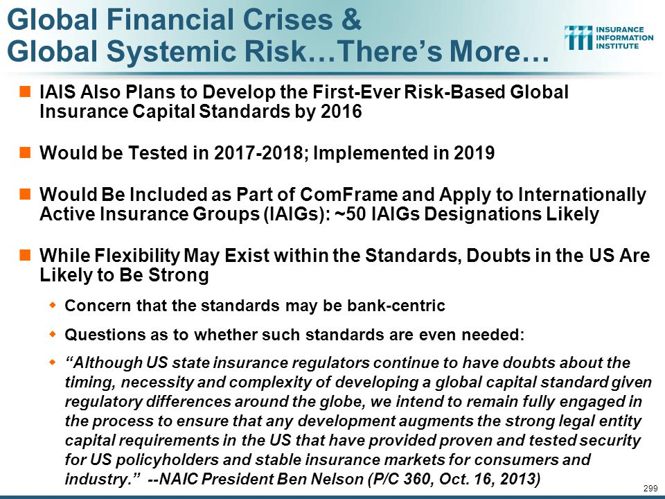 Global Financial Crises & Global Systemic Risk…There's More…