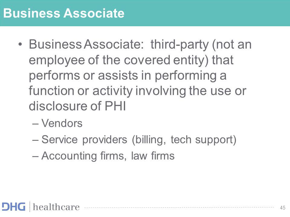 Business Associate