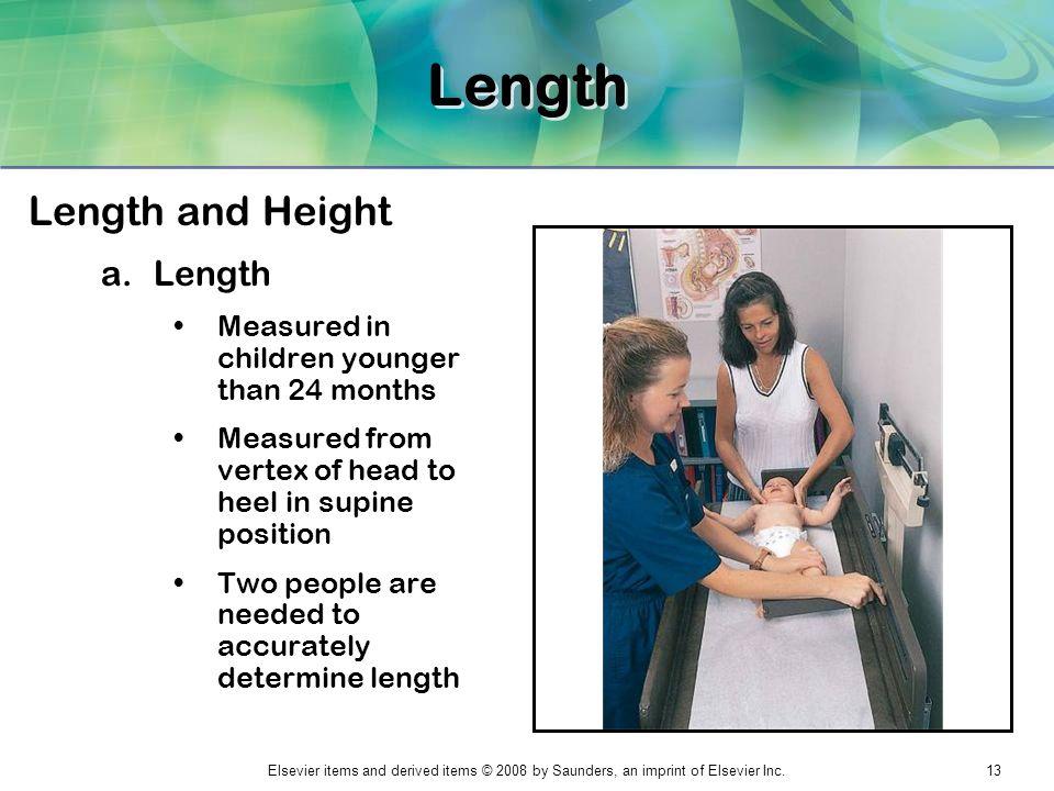 Length Length and Height Length