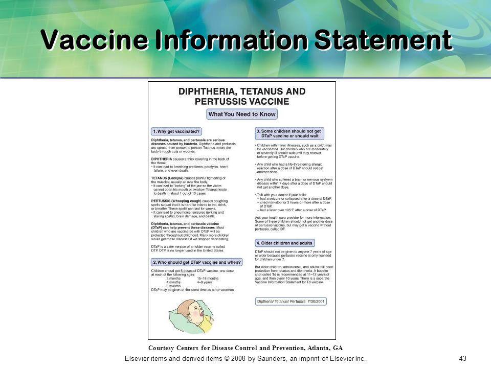 Vaccine Information Statement