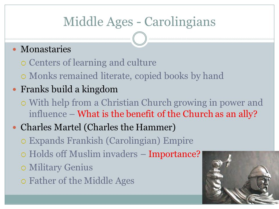 Middle Ages - Carolingians