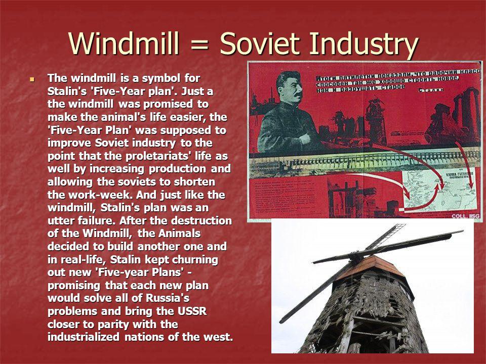 Windmill = Soviet Industry