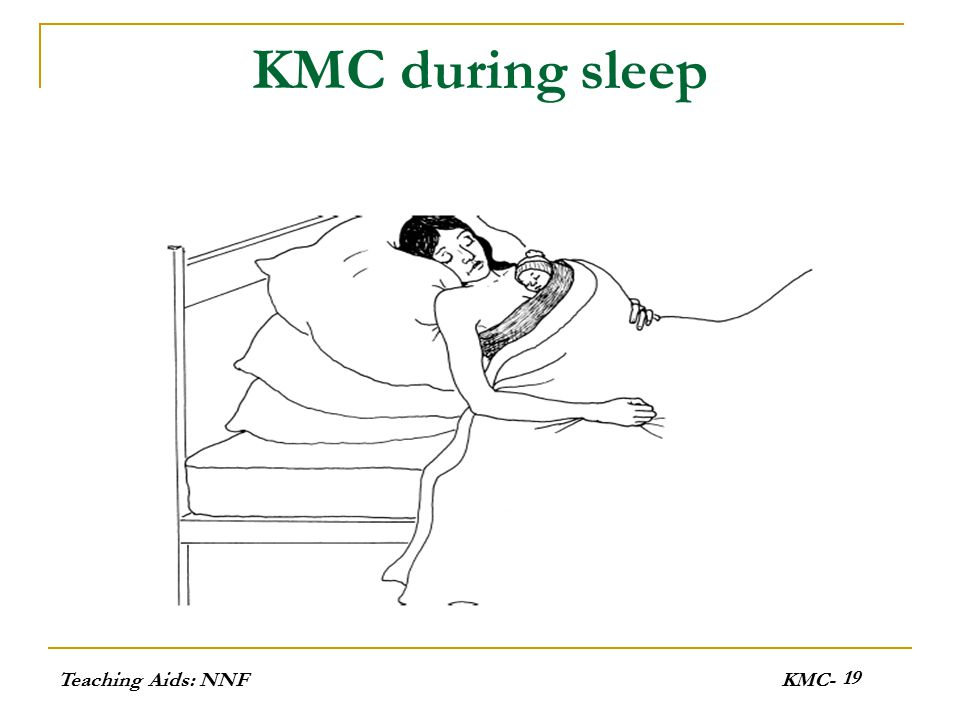 KMC during sleep