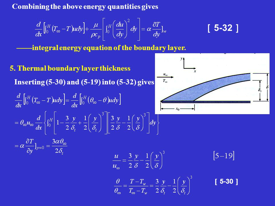 [5-32] Combining the above energy quantities gives