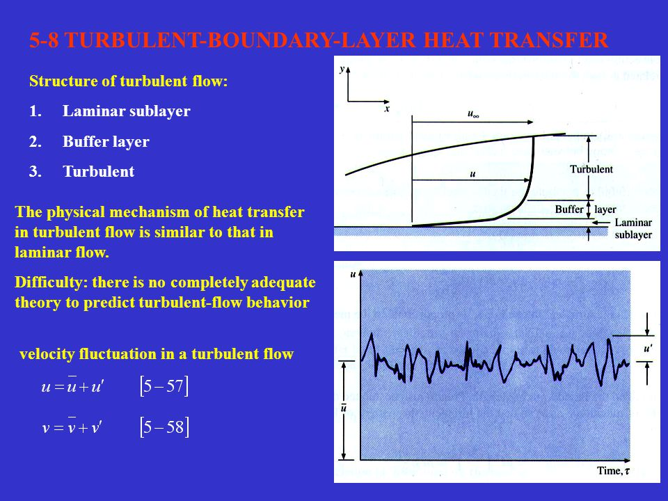 5-8 TURBULENT-BOUNDARY-LAYER HEAT TRANSFER