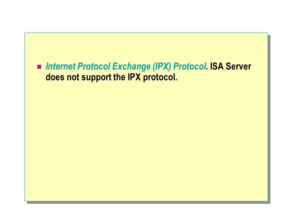 Internet Protocol Exchange (IPX) Protocol