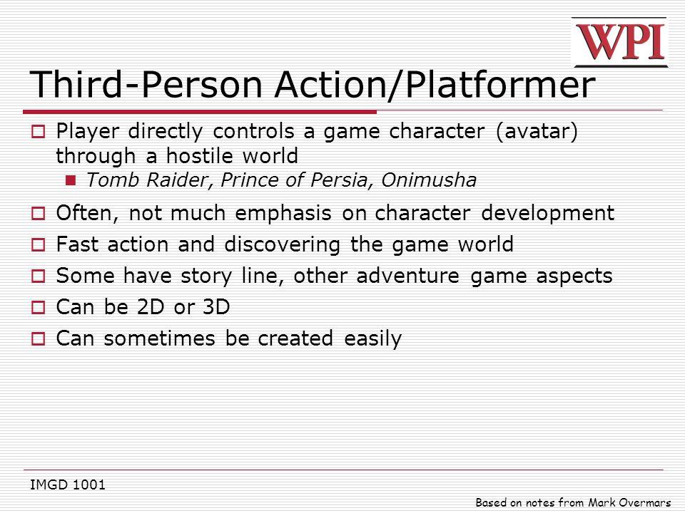 Third-Person Action/Platformer