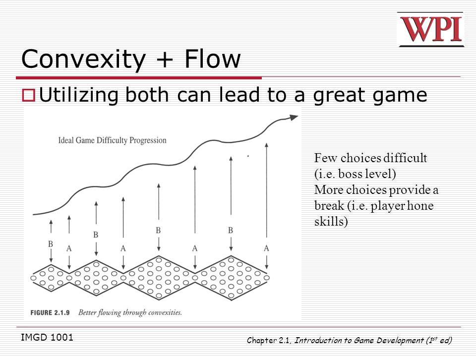 Convexity + Flow Utilizing both can lead to a great game