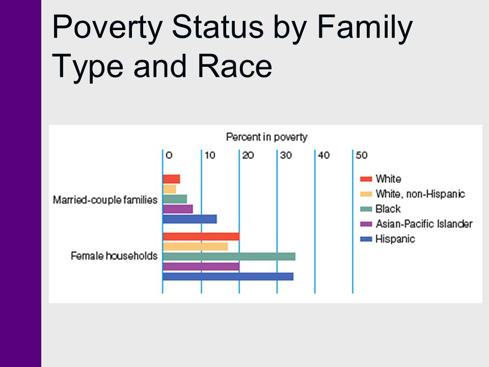 Poverty Status by Family Type and Race