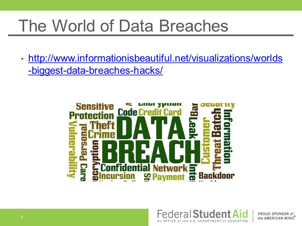 The World of Data Breaches