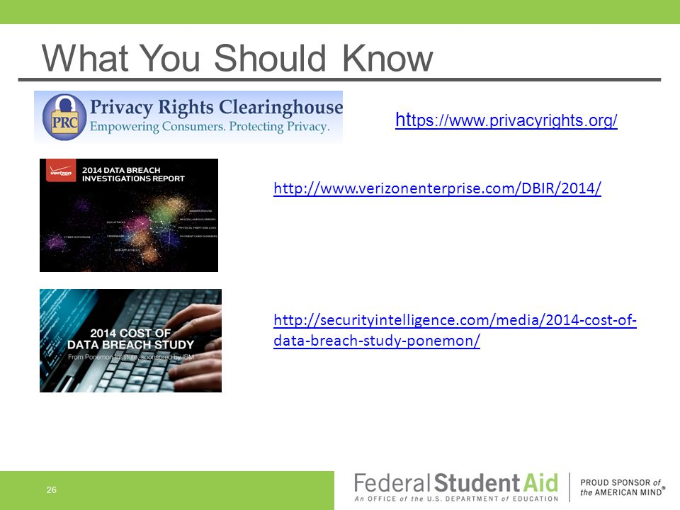 What You Should Know https://www.privacyrights.org/