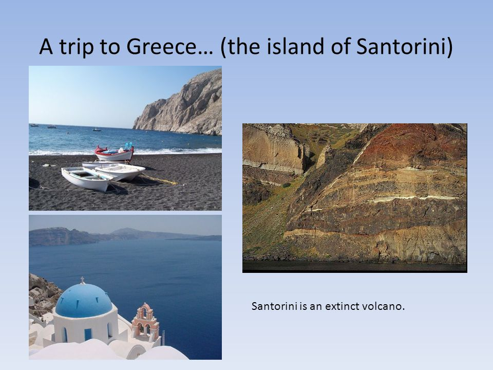 A trip to Greece… (the island of Santorini)
