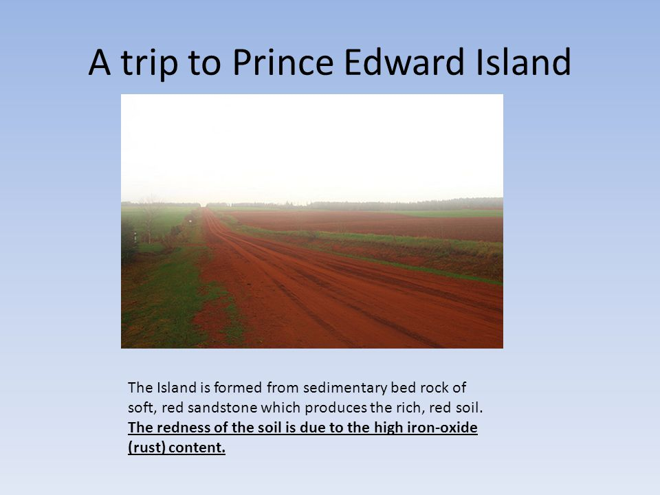 A trip to Prince Edward Island