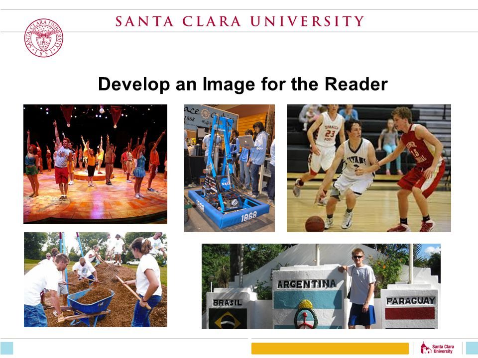 Develop an Image for the Reader